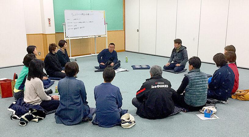 海女さんの講習会を開催しました